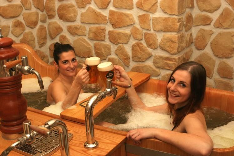 Czech Beer Spa in Prague